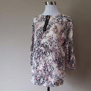 Pullover Sweater XL Dana Buchman 3/4 Sleeves